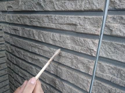 外壁のペンキ塗り