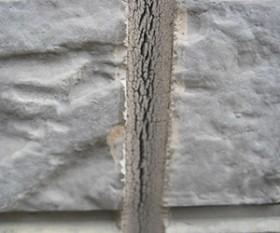 シーリング材のひび割れ